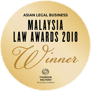 Daniel & Wong Advocates & Solicitors ALB Winner